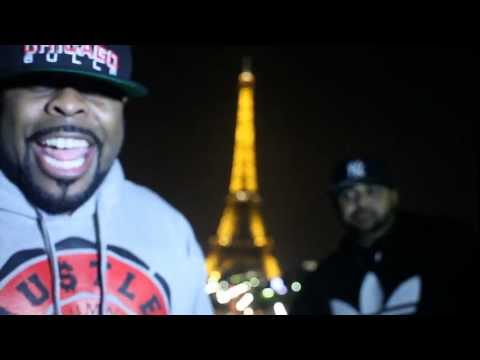 Joell Ortiz & Crooked I in Paris Ver.2 #Slaughterhouse