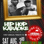 Hip Hop Karaoke NJ: August 3, 2013