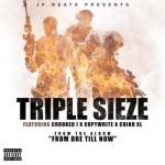 JP Beats ft KXNG Crooked, Copywrite & Chino XL – Triple Sieze (Stream)