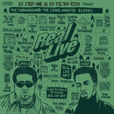 Real Live Blends COVER ART - FRONT